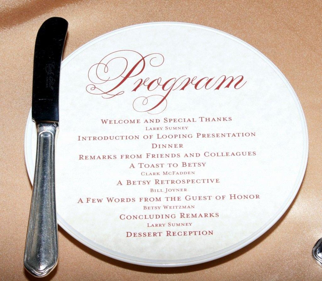 Retirement Ceremony Program Templates Beautiful Program for Retirement Party … Celebrate