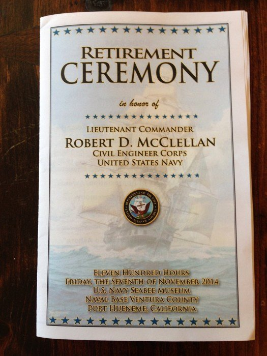 Retirement Ceremony Program Templates Best Of the Speech for My Husband's Retirement From the Us Navy
