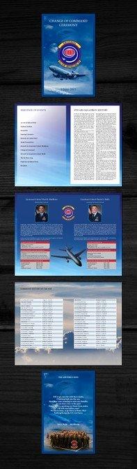 Retirement Ceremony Program Templates Elegant Brochure Program for Us Air force Retirement Ceremony