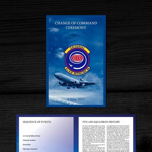 Retirement Ceremony Program Templates Inspirational Brochure Program for Us Air force Retirement Ceremony