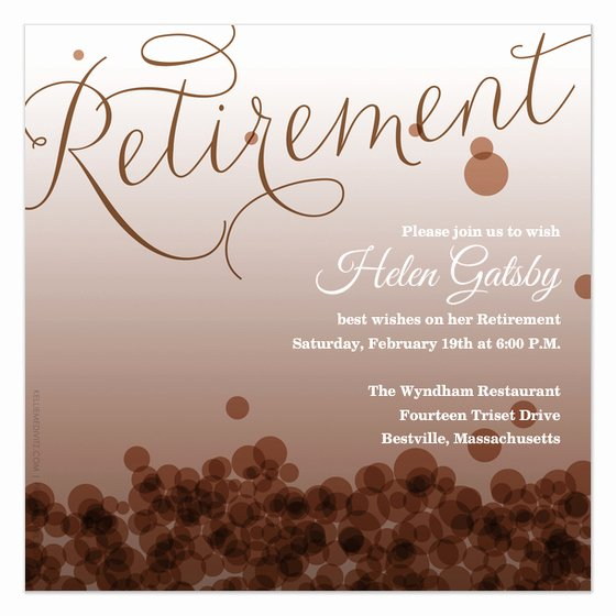 Retirement Party Flyer Templates Elegant Retirement Invitations & Cards On Pingg