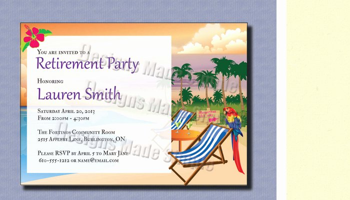 Retirement Party Program Template Luxury 4 Retirement Party Flyer Templates