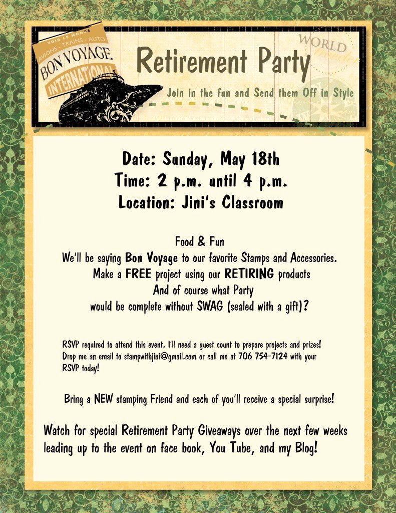 Retirement Party Program Template Luxury Retirement Party & Giveaways