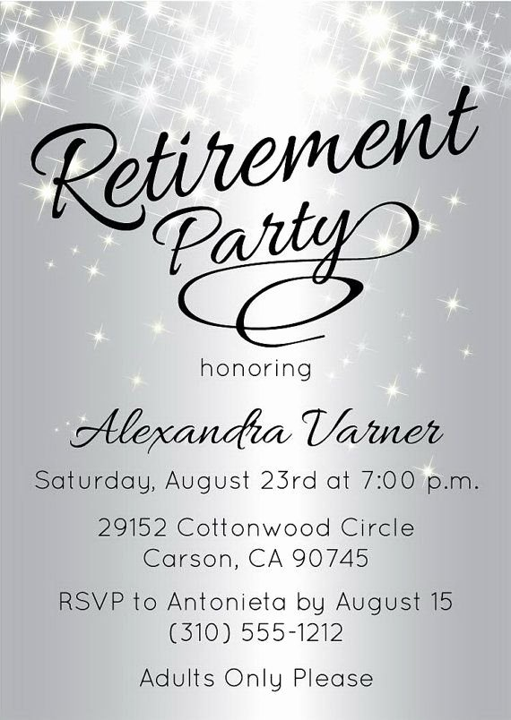 Retirement Party Program Templates Awesome Best 25 Retirement Invitations Ideas On Pinterest