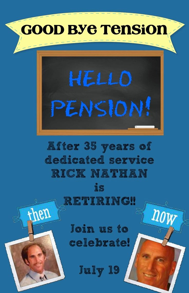 Retirement Party Program Templates Awesome Best 25 Retirement Invitations Ideas Only On Pinterest
