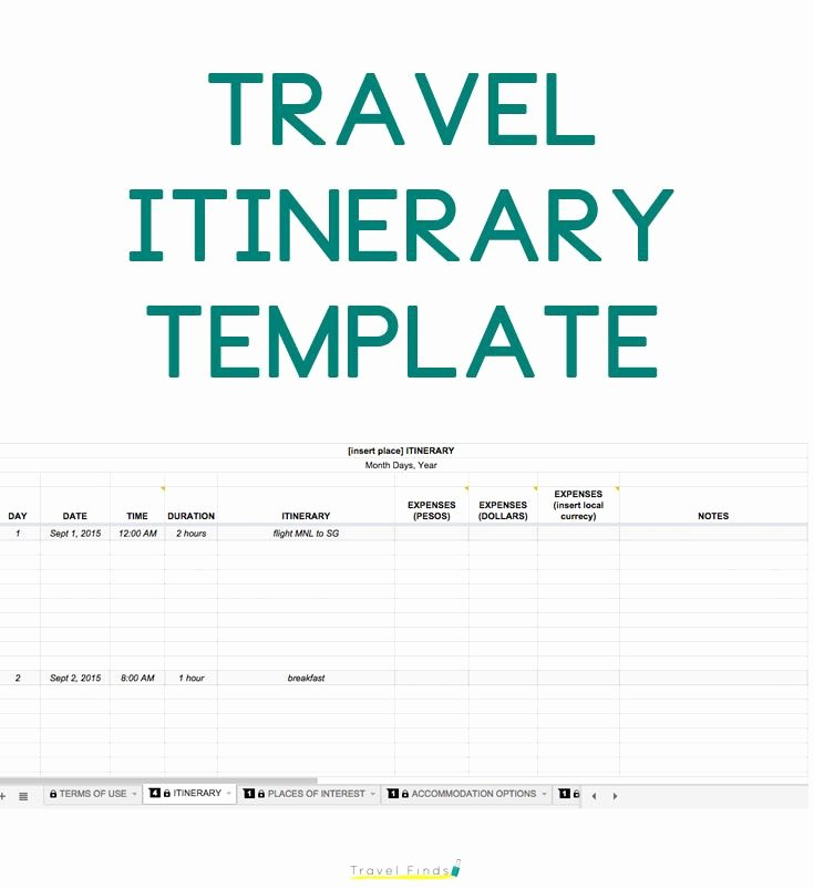 Road Trip Planner Template Fresh How to Plan A Trip Free Travel Itinerary Template