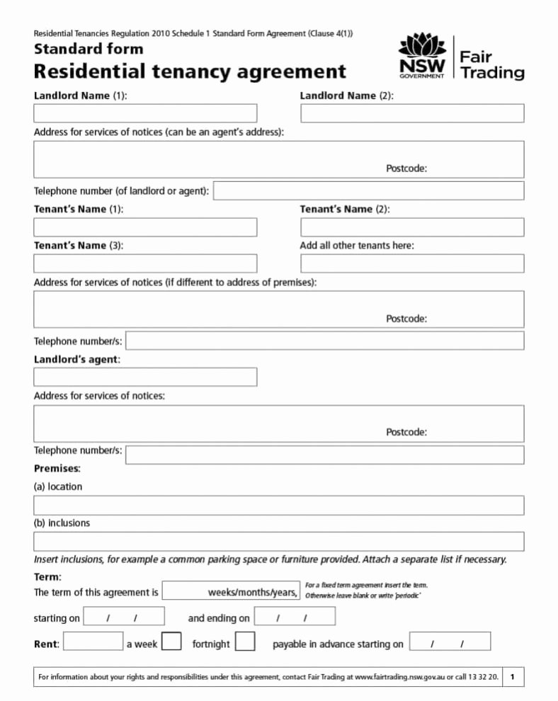 Room Rental Agreement Templates Beautiful Renting A Room Agreement
