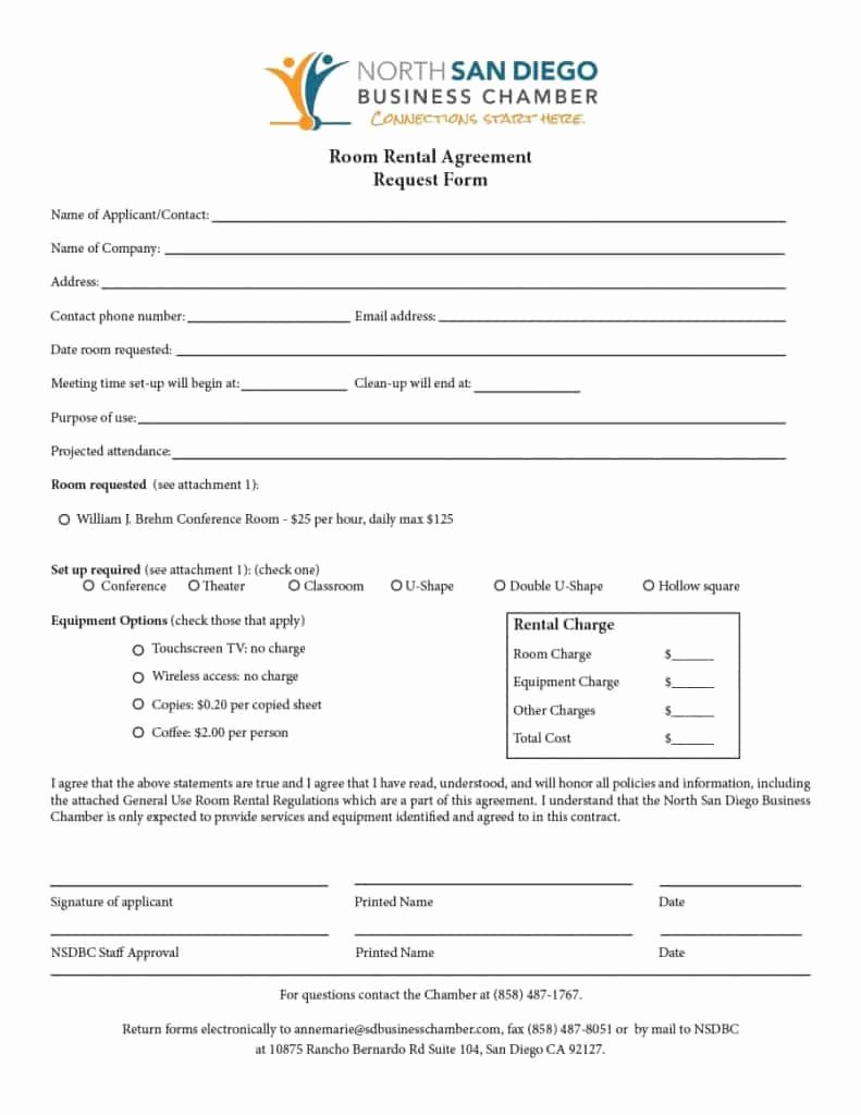 Room Rental Agreement Templates Elegant 39 Simple Room Rental Agreement Templates Template Archive