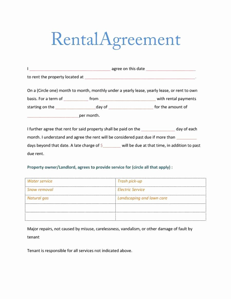Room Rental Agreement Templates Inspirational 39 Simple Room Rental Agreement Templates Template Archive