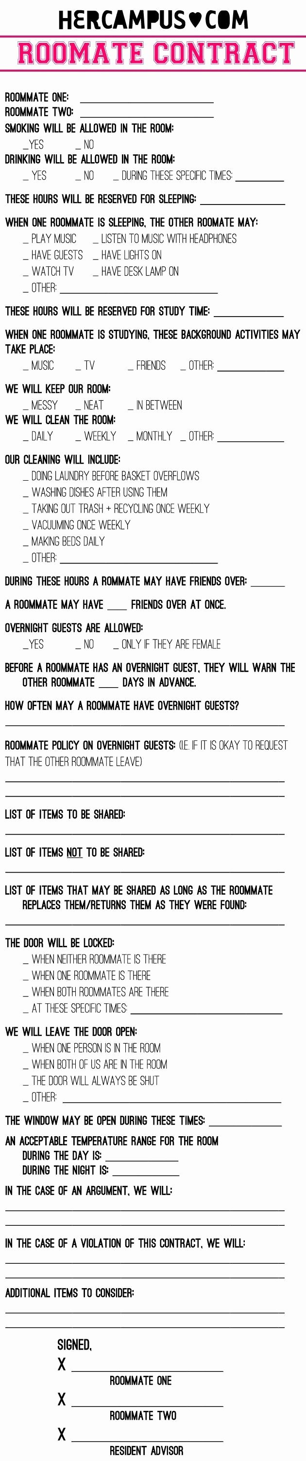 Roommate Chore Chart Template Elegant 24 Best Roommate Chore Charts Images On Pinterest
