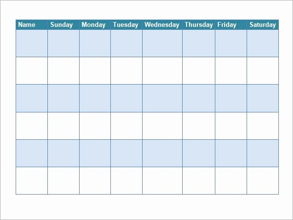 Roommate Chore Chart Template Unique Free 5 Sample Chore Chart Templates In Doc