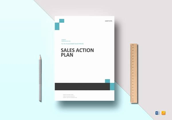 Sales Action Plan Template Beautiful Sample Business Action Plan 10 Documents In Word Pdf