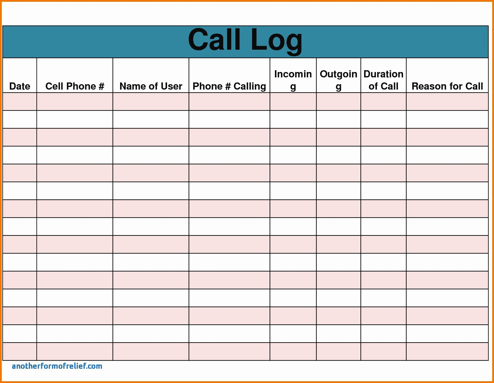 Sales Call Report Template Excel Fresh Sales Call Reports – Emmamcintyrephotography
