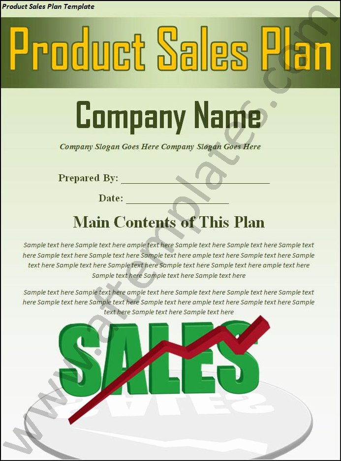 Sales Plan Template Word Luxury 3 Best Sales Plan Templates