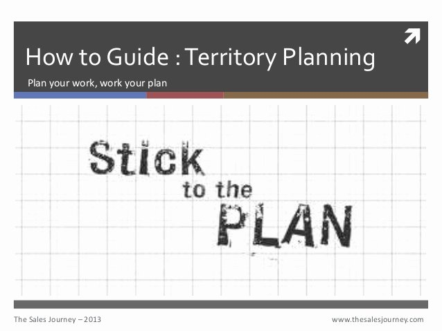 Sales Territory Planning Template Inspirational Territory Planning the Sales Journey