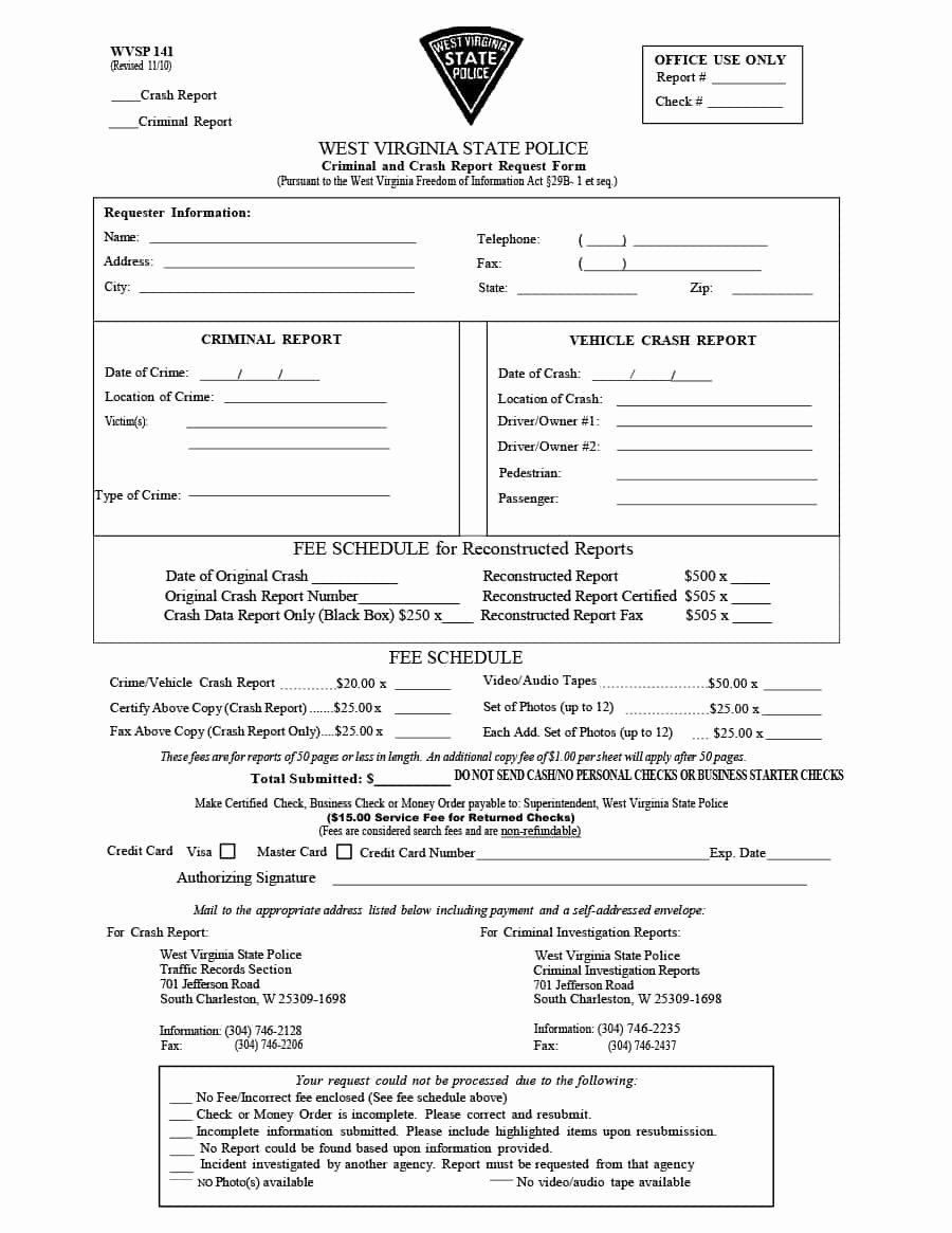 Sample Police Report Template Lovely 20 Police Report Template & Examples [fake Real]