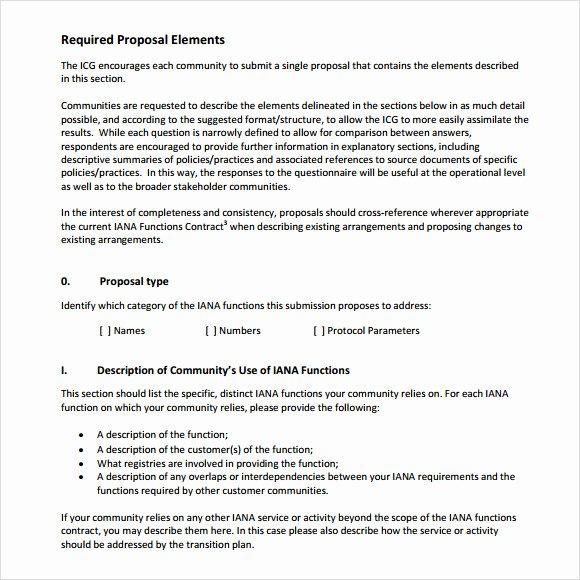 Sample Rfp Response Template Elegant Sample Rfp Response Template 8 Free Documents In Pdf