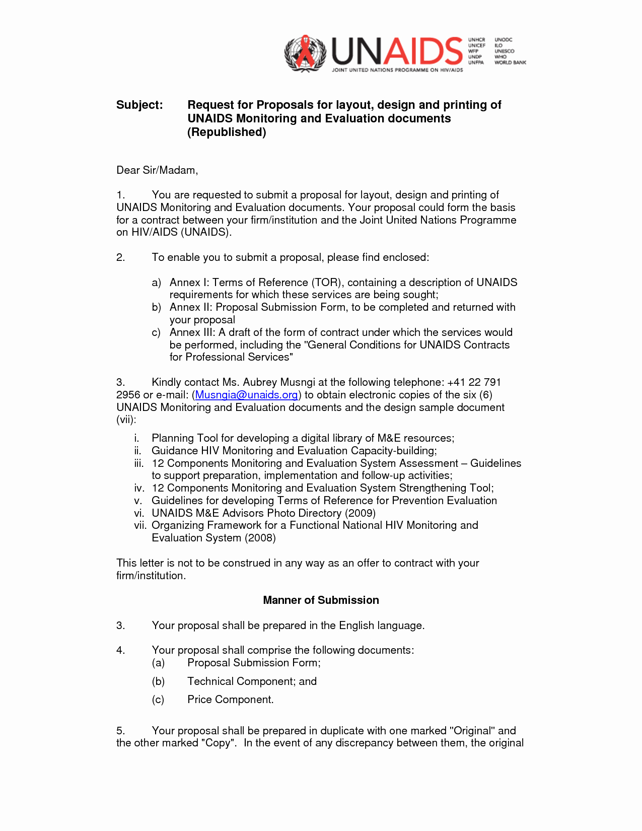 Sample Rfp Response Template Inspirational Rfp Cover Letter