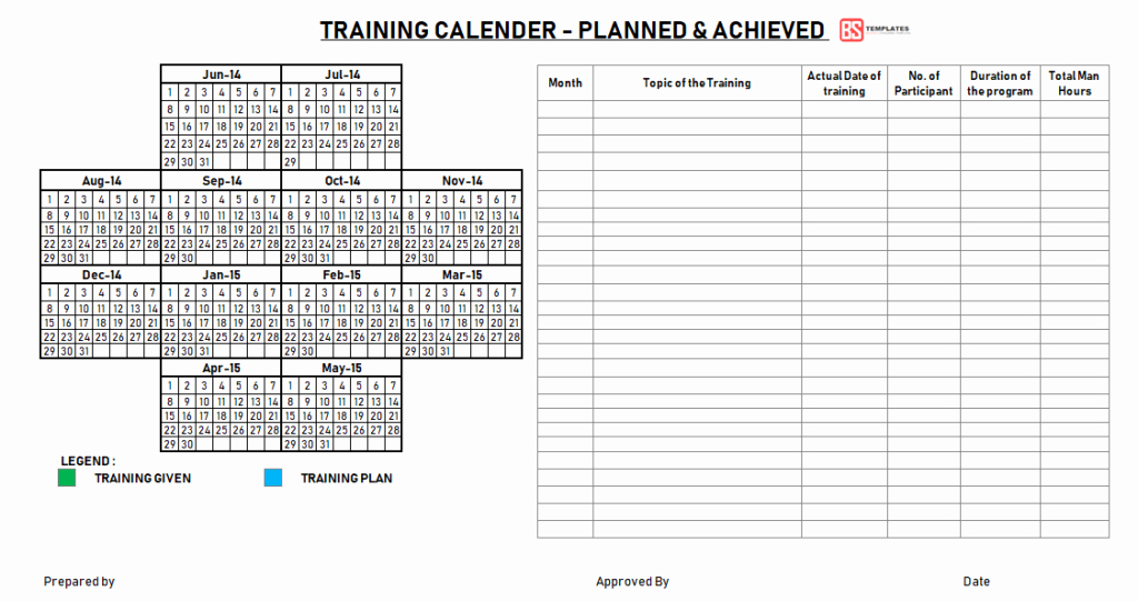 Sample Training Plan Template New Employee Training Plan Template Excel Project Annual