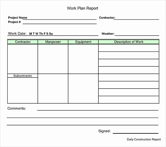 Sample Work Plan Template Inspirational Demolition Work Plan Template Templates Resume