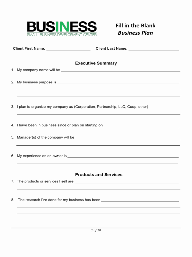 Sba Business Plan Template Best Of Business Plan Template Proposal Sample