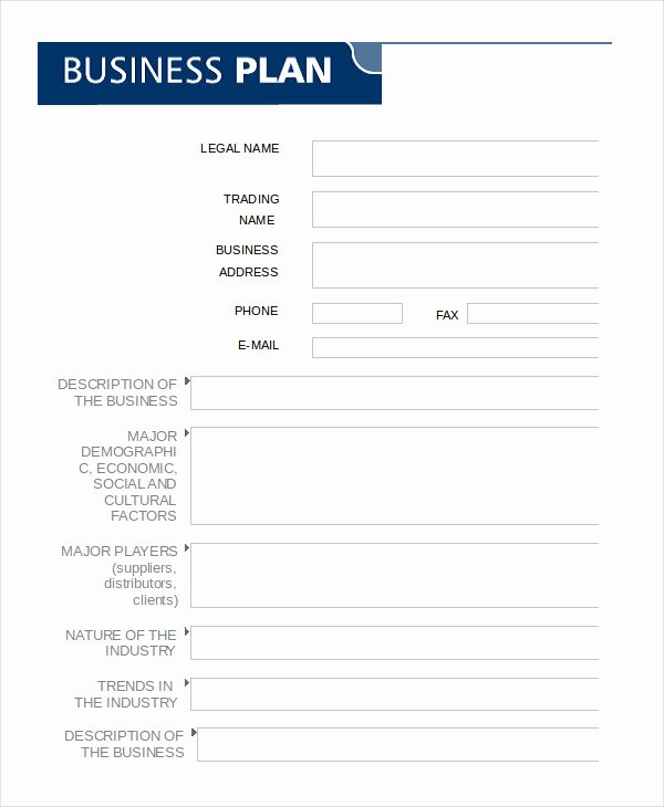Sba Business Plan Template Elegant Business Plan Template Word Sba A Person are Usually Right