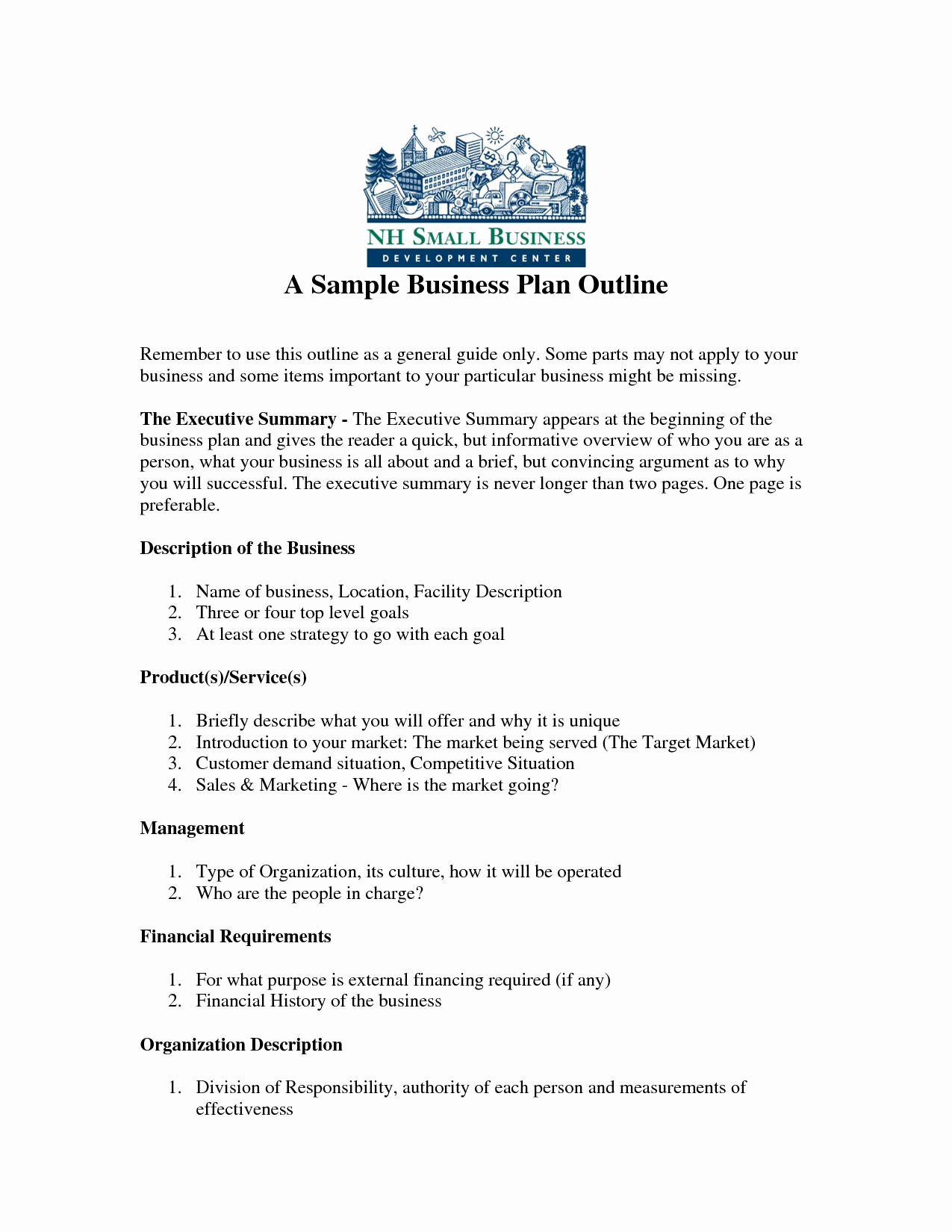 Sba Business Plan Template Lovely Free Printable Business Plan Sample form Generic