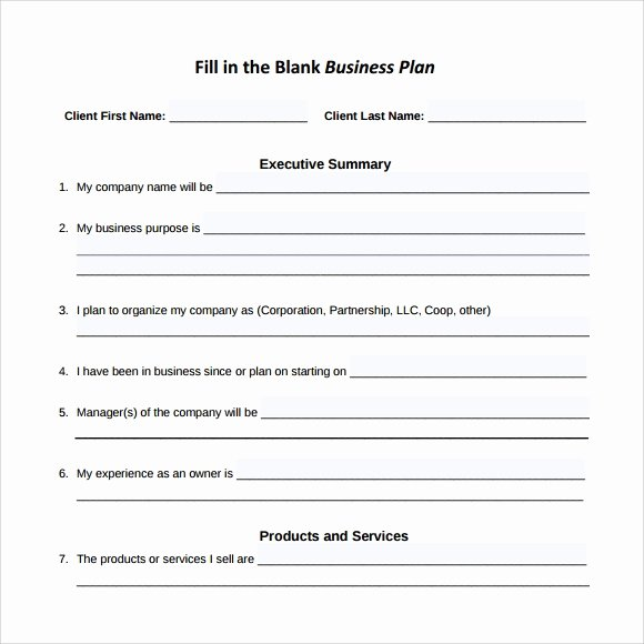 Sba Business Plan Template Unique Sample Small Business Plan 18 Documents In Pdf Word