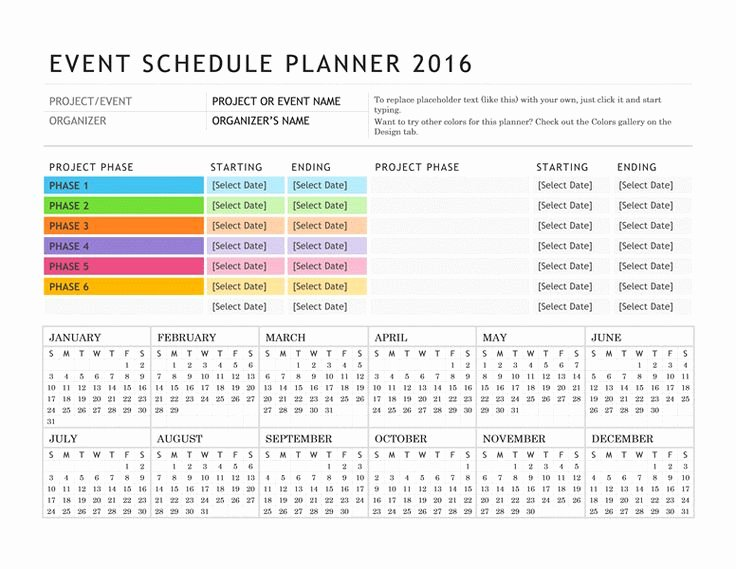 Schedule Of events Template Awesome Free Digital or Printable Calendar Templates for Microsoft