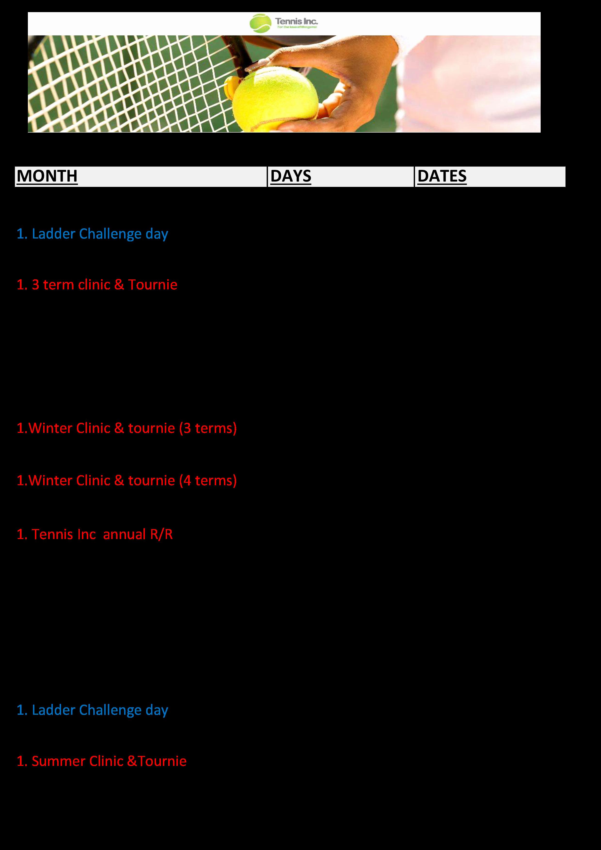 Schedule Of events Template Elegant Annual event Calendar Sample