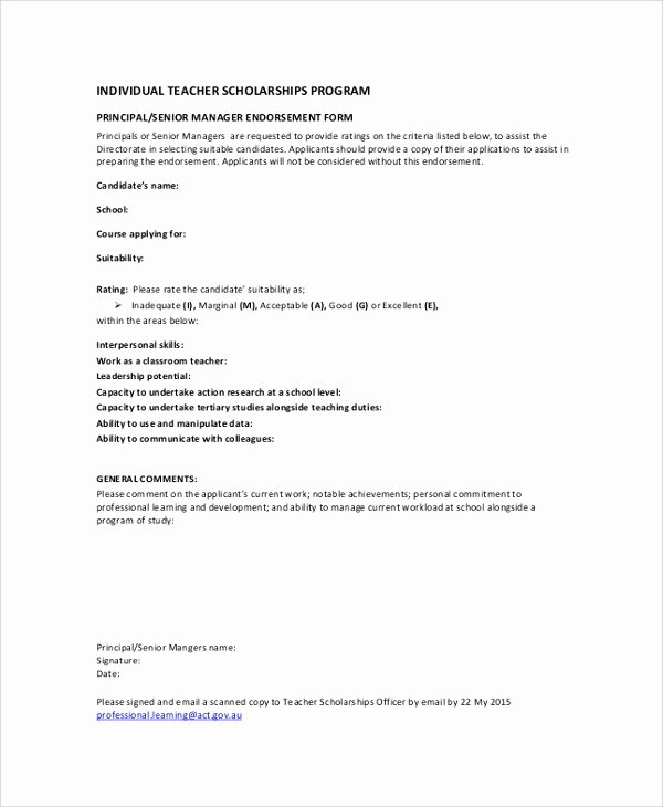 Scholarship Application Template Word Beautiful Sample Tar Application form 5 Documents In Pdf Word