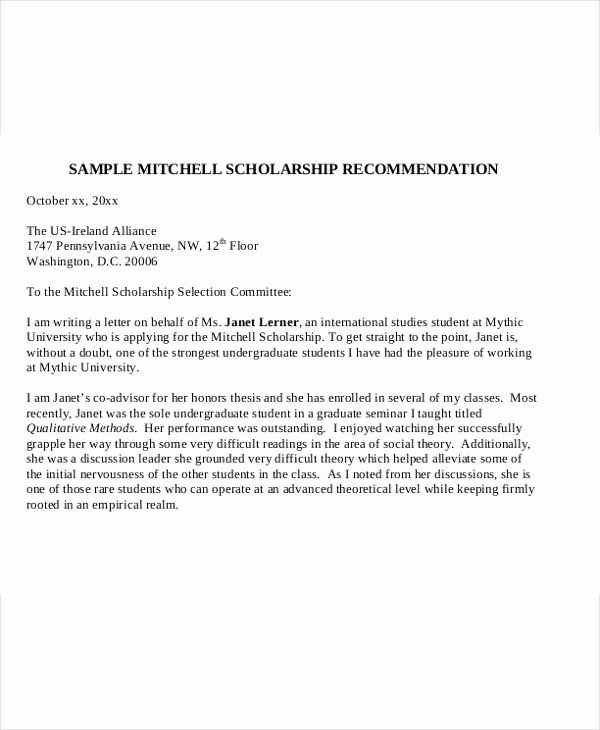 Scholarship Letter Of Recommendation Template Beautiful College Paper Writer Writing Good Argumentative Essays