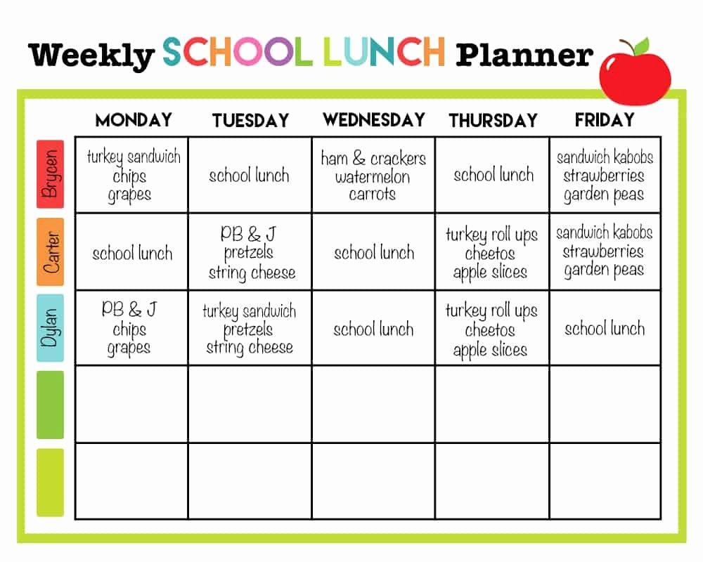 School Lunch Menu Template New Cupcake Diaries top 10 Posts Of 2015