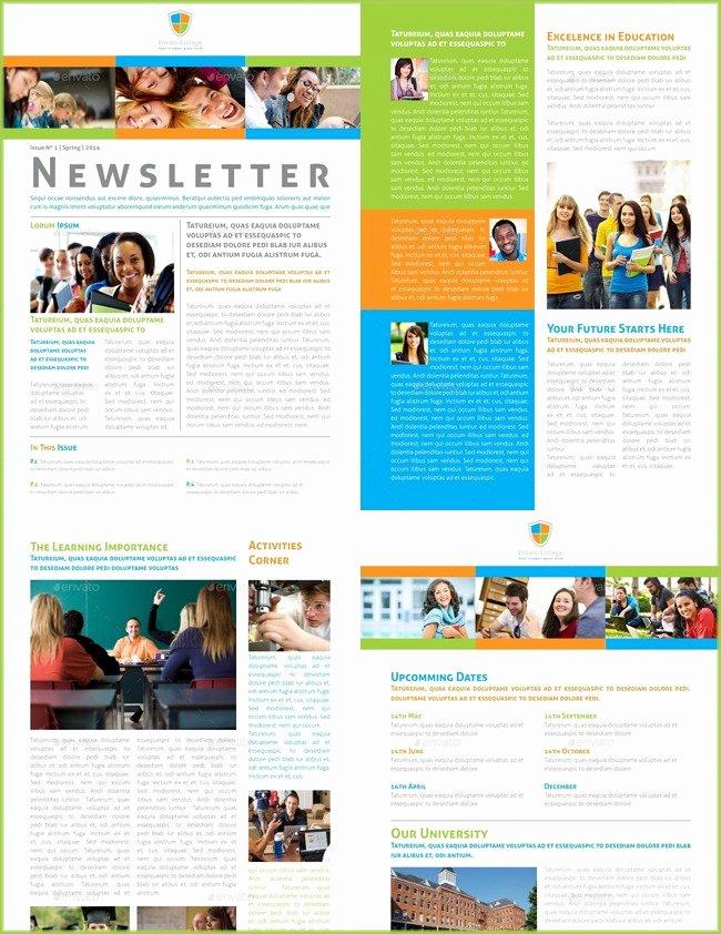 School Newsletter Templates Free Lovely 10 Classroom Newsletter Templates Free and Printable