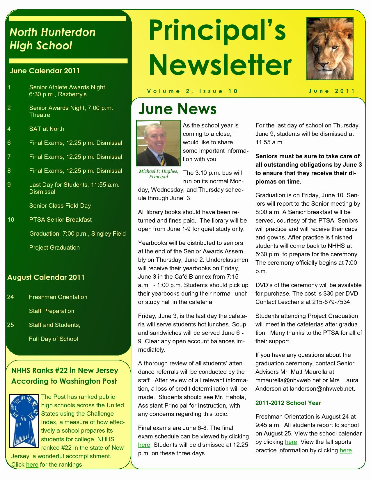 School Newsletter Templates Free Luxury Best S Of Sample School Newsletter Templates Free