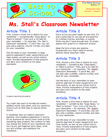 pages 08 school newsletter