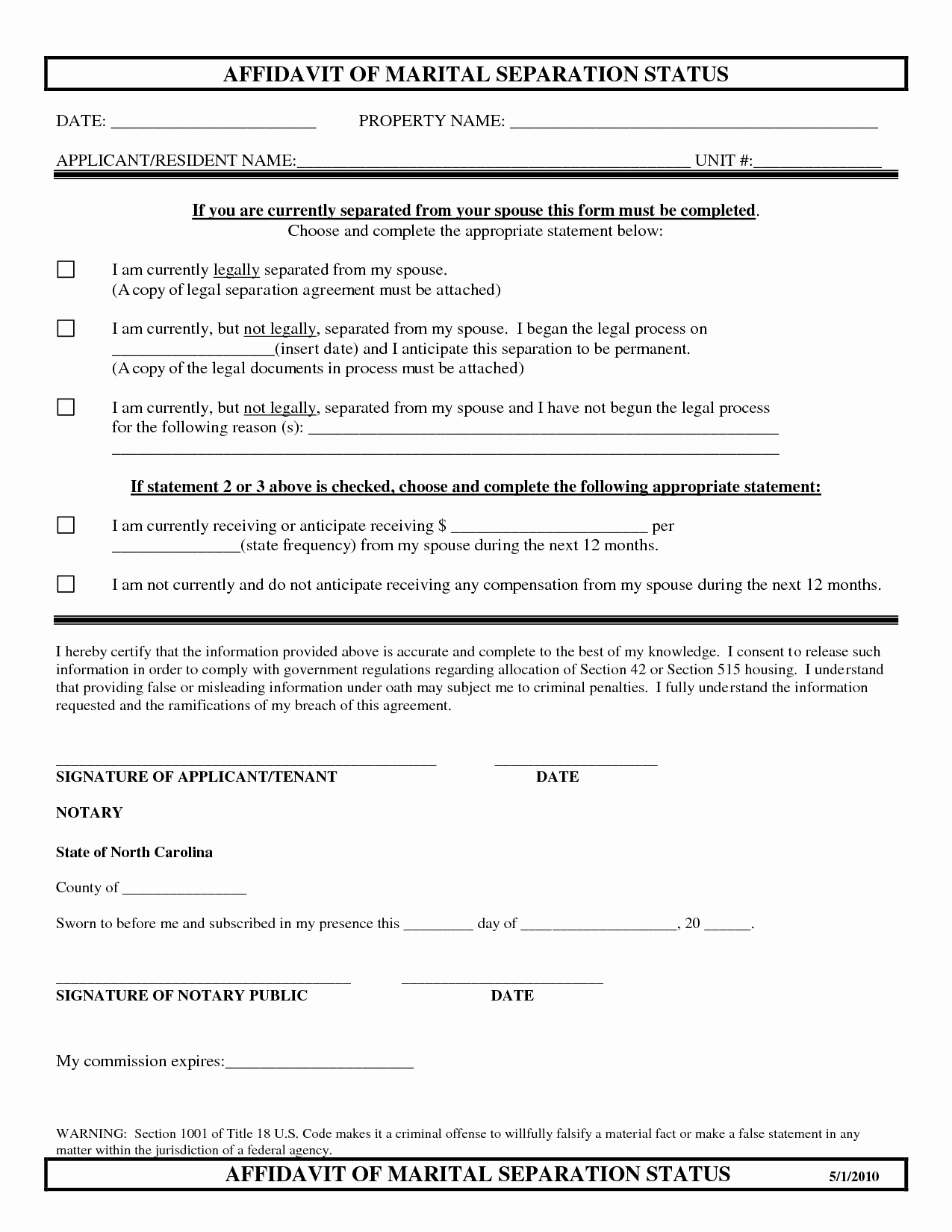 Separation Agreement Template Word Inspirational top 5 Free formats Of Separation Agreement Templates