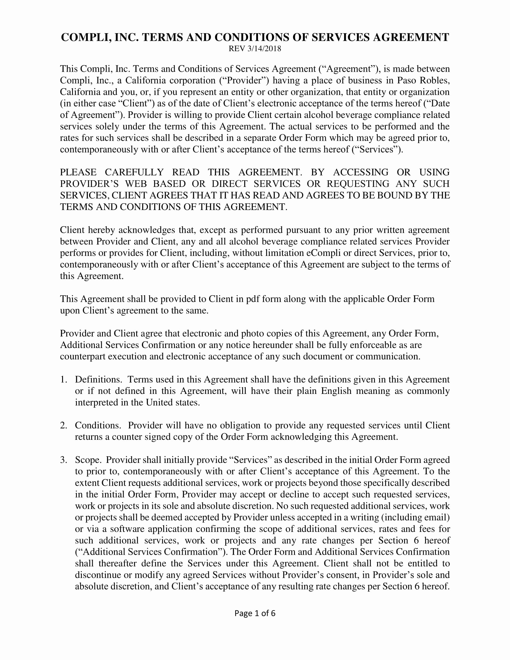 Service Agreement Template Pdf Lovely 11 Service Agreement Contract Template Examples Pdf