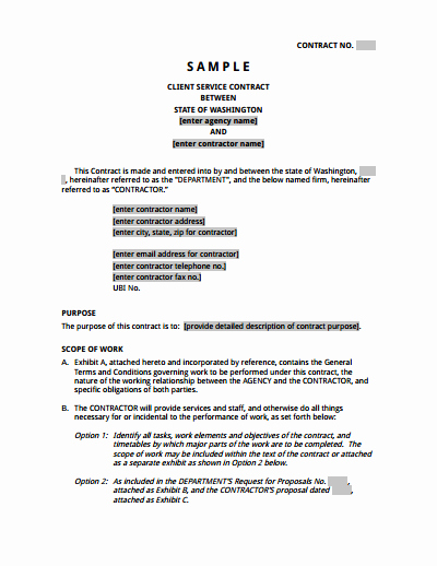 Service Agreement Template Word Elegant Service Agreement Template Free Download Create Edit