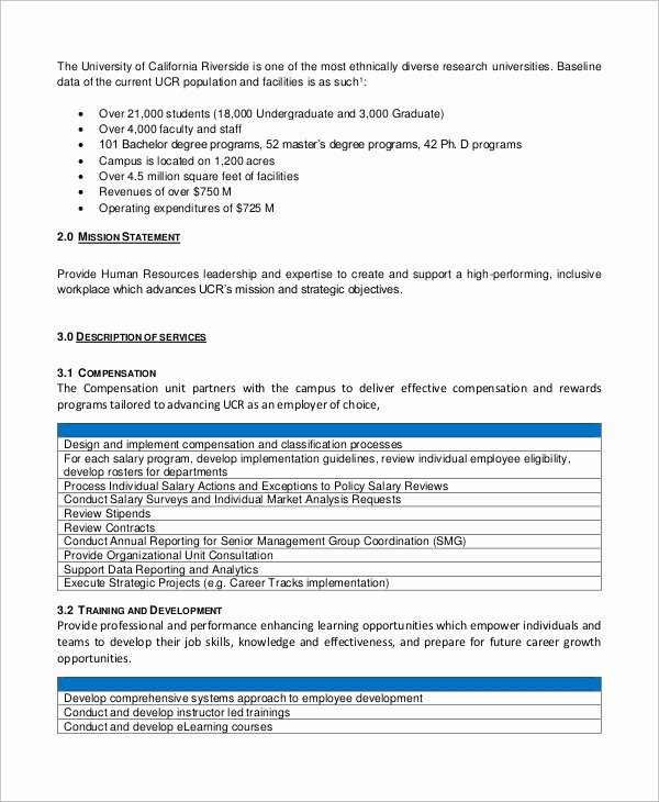 Service Level Agreement Template Elegant Sample Service Level Agreement 13 Examples In Word Pdf
