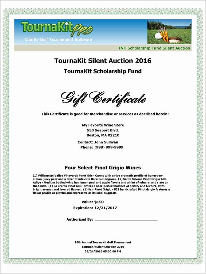Silent Auction Item Description Template Awesome Charity Auction forms 108 Silent Auction Bid