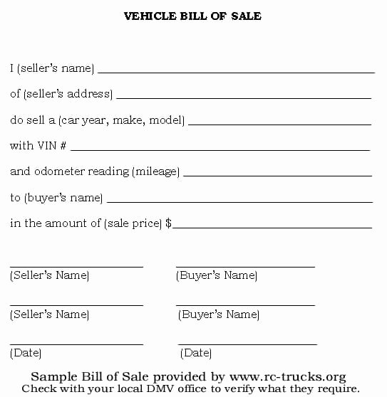 Simple Bill Of Sale Template Fresh 6 Bill Sale Templates Excel Pdf formats