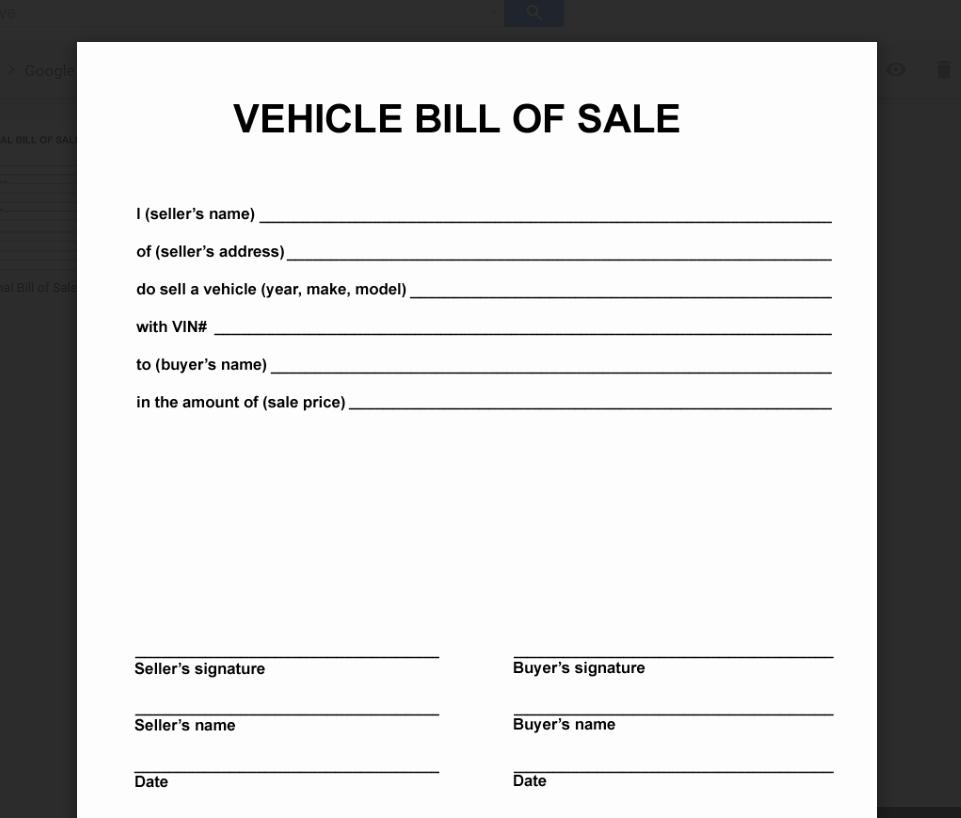 Simple Bill Of Sale Template Lovely Deeauvil Freebie Friday Simple Free Bill Of Sale