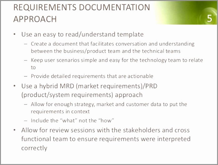Simple Business Requirements Document Template Inspirational Business Requirements Document Overview Simple Simple