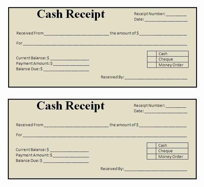 Simple Cash Receipt Template Inspirational Best 25 Free Receipt Template Ideas On Pinterest