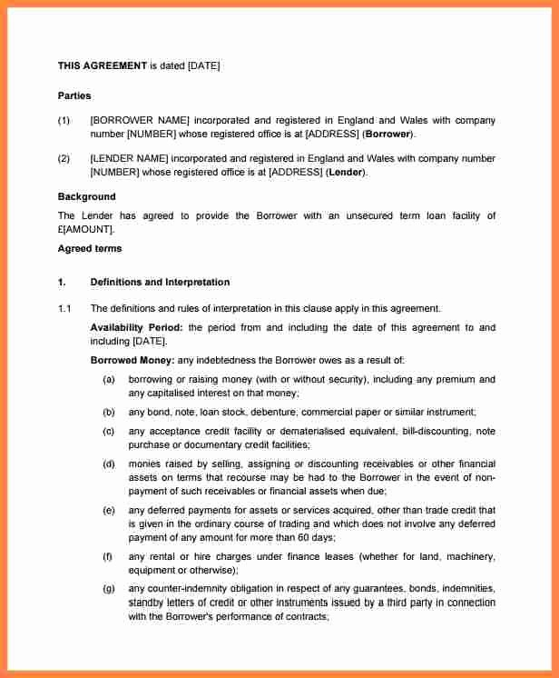 Simple Investment Contract Template New 6 Small Business Investment Agreement Template