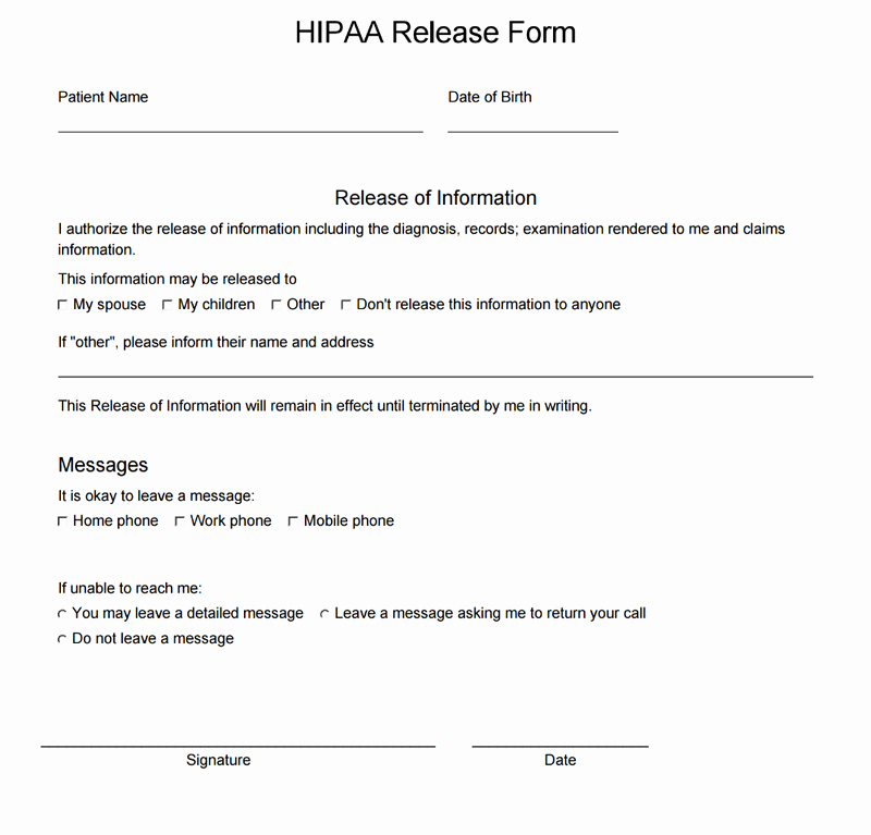 Simple Medical Release form Template Lovely Insert Input Fields forms Into A Consent form Intakeq
