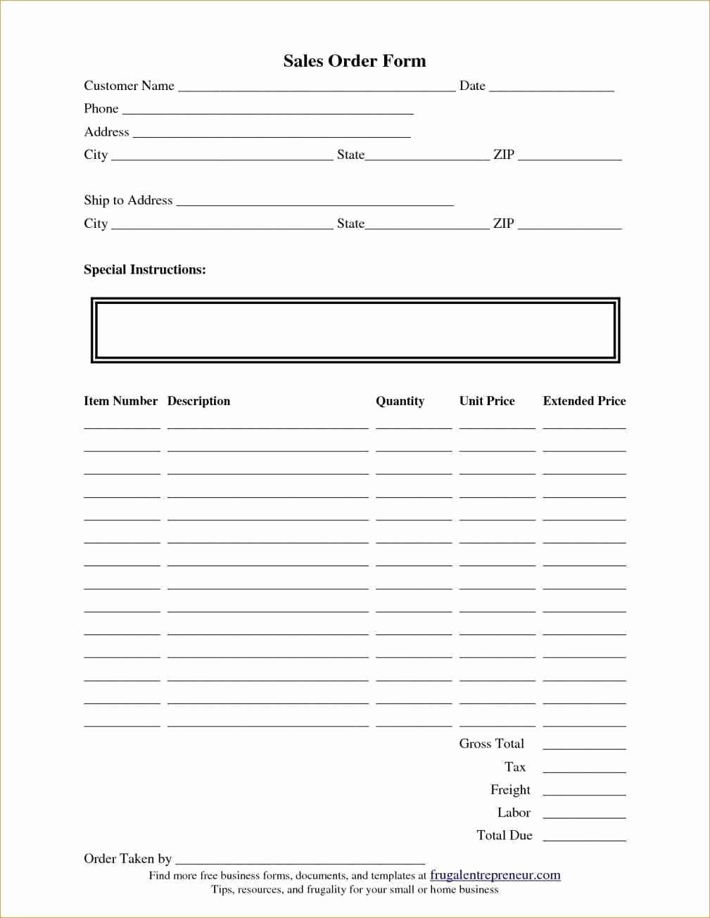 Simple order form Template Elegant Local Business and Need All the Relevant Details Like Name