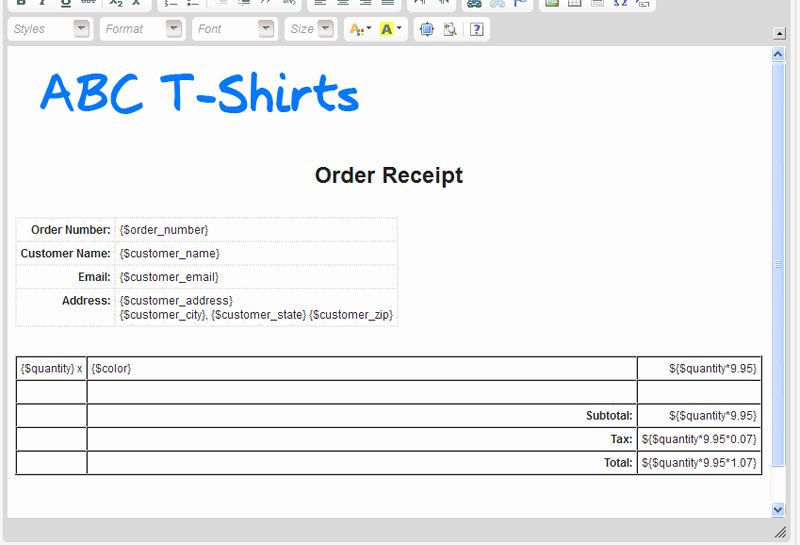 Simple order form Template Luxury Simple T Shirt order form Templates Download Free Fice