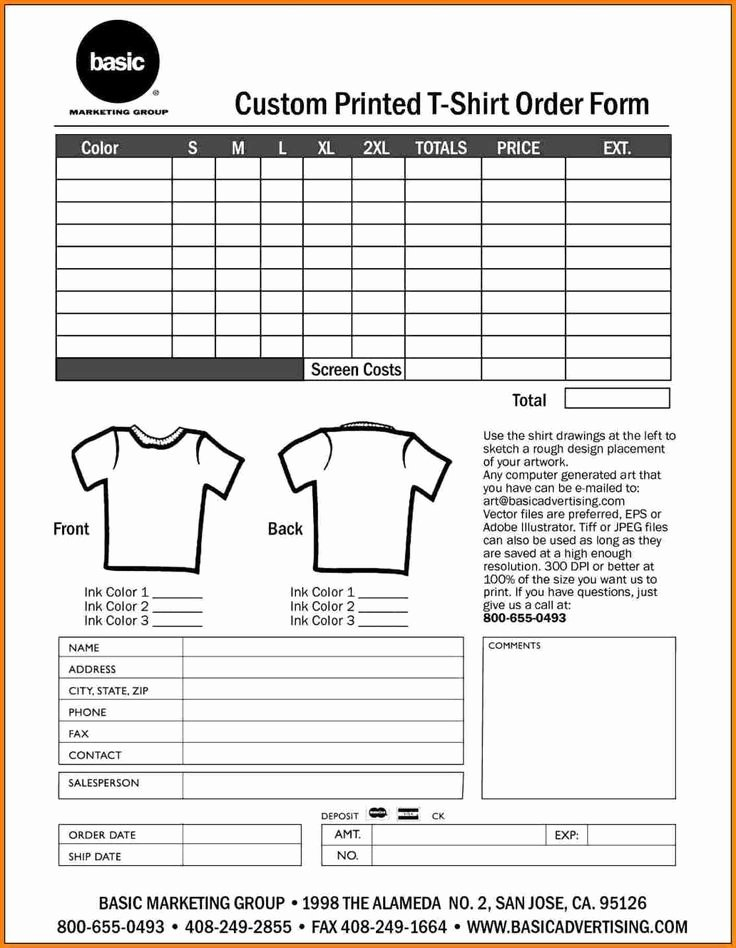 Simple order form Template Unique 20 Best Simple order form Template Word Images On